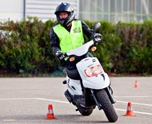 Le permis AM pour rouler en 50 cm 3 avec les auto-école Lamm Horizon